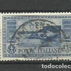 Sellos: ITALIA - - -1932 - USADO. Lote 288079583