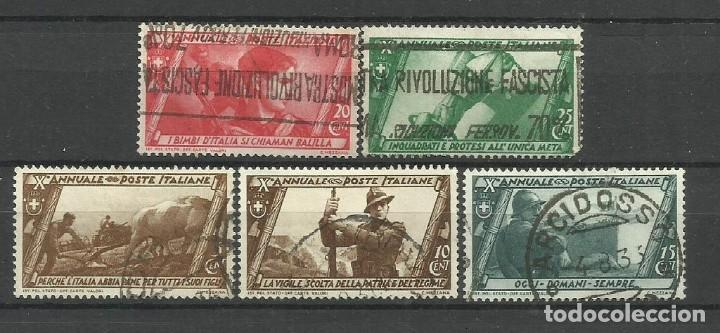 ITALIA - - SERIE COMPLETA-1932 - USADO (Sellos - Extranjero - Europa - Italia)