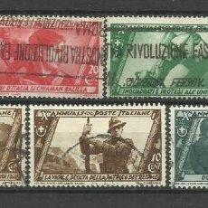 Sellos: ITALIA - - SERIE COMPLETA-1932 - USADO. Lote 288080178