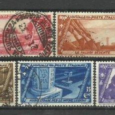 Sellos: ITALIA - - SERIE COMPLETA-1932 - USADO. Lote 288080463