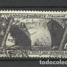 Sellos: ITALIA - - -1932 - USADO. Lote 288123898