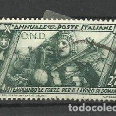 Sellos: ITALIA - - -1932 - USADO. Lote 288123958
