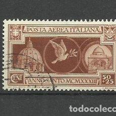 Sellos: ITALIA - - -1933 - - USADO. Lote 288124048
