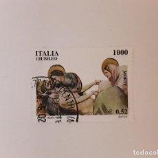 Sellos: AÑO 2000 ITALIA SELLO USADO. Lote 288149158