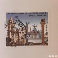 Sellos: AÑO 1996 ITALIA SELLO USADO. Lote 288149268