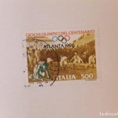 Sellos: AÑO 1996 ITALIA SELLO USADO. Lote 288149318