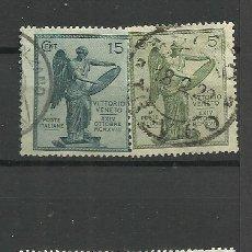 Sellos: ITALIA - - -1921- USADO -SERIE COMPLETA). Lote 288459663