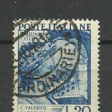 Sellos: ITALIA - - -1949- USADO -(SERIE COMPLETA). Lote 288460823
