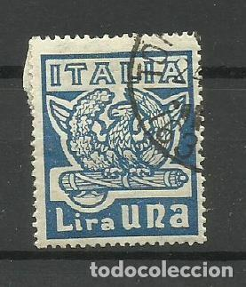 ITALIA - - -1923- USADO - (Sellos - Extranjero - Europa - Italia)
