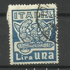 Sellos: ITALIA - - -1923- USADO -. Lote 288462058