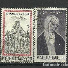 Sellos: ITALIA - - -1962 - SERIE COMPLETA. Lote 289733338