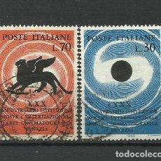 Sellos: ITALIA - - -1962 - SERIE COMPLETA. Lote 289733433