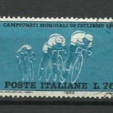 Sellos: ITALIA - - -1962 - SERIE COMPLETA. Lote 289733648