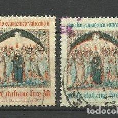 Sellos: ITALIA - - -1962 - SERIE COMPLETA. Lote 289735388