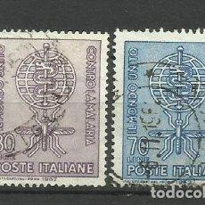 Sellos: ITALIA - - -1962 - SERIE COMPLETA. Lote 289735528