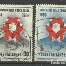 Sellos: ITALIA - - -1963 - SERIE COMPLETA. Lote 289735678
