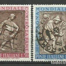 Sellos: ITALIA - - -1963 - SERIE COMPLETA. Lote 289735778