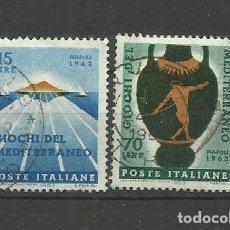 Sellos: ITALIA - - -1963 - SERIE COMPLETA. Lote 289736143