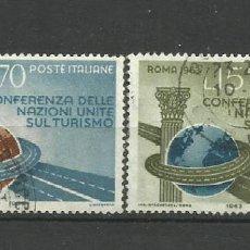 Sellos: ITALIA - - -1963 - SERIE COMPLETA. Lote 289736253