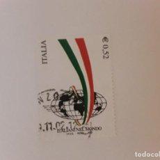 Sellos: AÑO 2002 ITALIA SELLO USADO. Lote 289807218