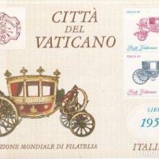 Sellos: SELLOS ITALIA AÑO 1985 OFERTA HOJITAS BLOQUE EN NUEVO. Lote 290523643