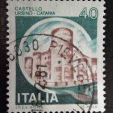 Sellos: ITALIA . CASTILLOS. Lote 294982133