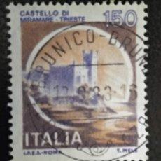 Sellos: ITALIA . CASTILLOS. Lote 294982193