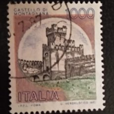 Sellos: ITALIA . CASTILLOS. Lote 294984488