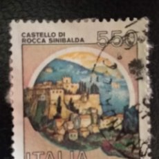 Sellos: ITALIA . CASTILLOS. Lote 294984818