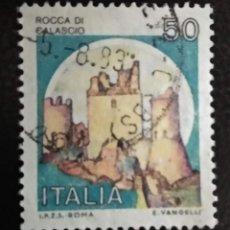 Sellos: ITALIA . CASTILLOS. Lote 294985183