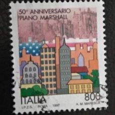 Sellos: ITALIA 1997. PLAN MARSHALL. YT:IT 2271,. Lote 294986818