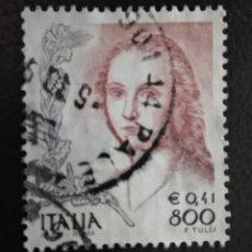 Sellos: ITALIA 2002. MUJERES EN EL ARTE (1998-2004).YT:IT 2537,. Lote 294989253