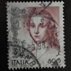 Sellos: ITALIA 1998. MUJERES EN EL ARTE (1998-2004). YT:IT 2315,. Lote 294989423