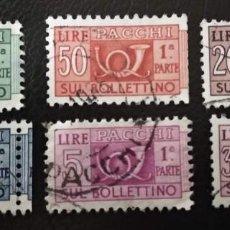 Sellos: ITALIA PAQUETES POSTALES - CONCESIÓN. Lote 294990043