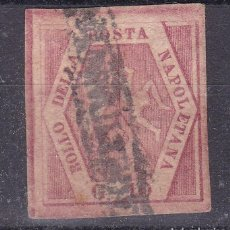 Sellos: MM18- CLÁSICOS ITALIA NAPOLES YT5 USADO. Lote 295527033
