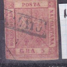 Sellos: MM18- CLÁSICOS ITALIA NAPOLES YT4 USADO. Lote 295527223