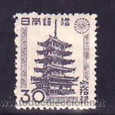 Sellos: JAPON 367A USADA, TEMPLO HORYU. Lote 8258591