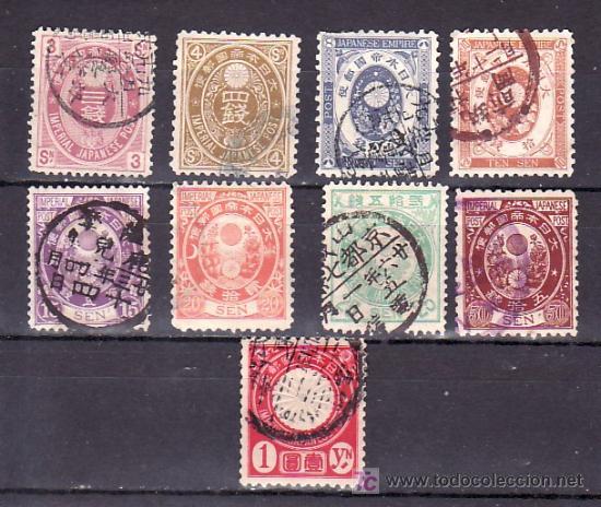 JAPON 78/86 USADA, (Sellos - Extranjero - Asia - Japón)
