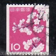 Sellos: JAPON 677A DE ROLLO USADA, FLORES, CEREZO EN FLOR, . Lote 11051831