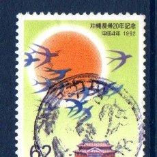 Sellos: JAPÓN.- YVERT Nº 1983, SERIE COMPLETA EN USADO (JAP-202). Lote 32736614