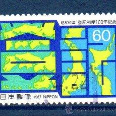 Sellos: JAPÓN.- YVERT Nº 1614, SERIE COMPLETA EN USADO (JAP-213). Lote 32737042