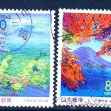 Sellos: JAPÓN.- YVERT Nº 2517/18, SERIE COMPLETA EN USADO (JAP-307). Lote 32741444