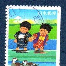 Sellos: JAPÓN.- MICHEL Nº 3042D, SERIE COMPLETA EN USADO (JAP-410). Lote 32746007