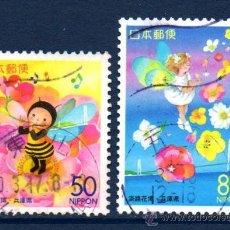 Sellos: JAPÓN.- SERIE COMPLETA DEL AÑO 2000 EN USADO (JAP-418). Lote 32749630