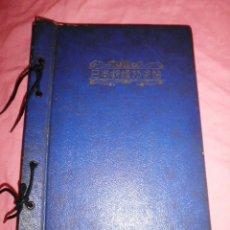 Sellos: EXCEPCIONAL ANTIGUO ALBUM DE SELLOS JAPONES - AÑOS 1870-1956 - MUY RARO.. Lote 41257851