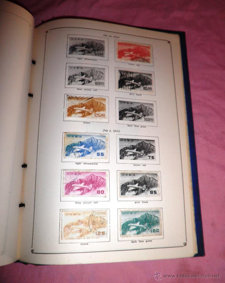 Sellos: EXCEPCIONAL ANTIGUO ALBUM DE SELLOS JAPONES - AÑOS 1870-1956 - MUY RARO. - Foto 7 - 41257851