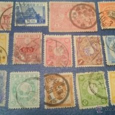 Sellos: JAPON. ESTUPENDO LOTE DE 14 SELLOS PRNCIPIOS DE SIGLO PASADO.(II). Lote 51562298