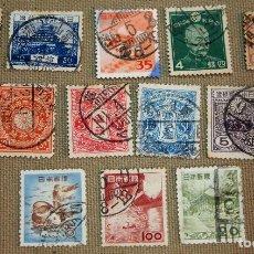 Sellos: LOTE DE 14 SELLOS DE JAPON, USADOS, SIN CHARNELA. Lote 102455839