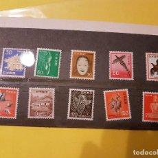 Sellos: LOTE 10 SELLOS DE JAPON NIPPON NUEVOS. Lote 106491003