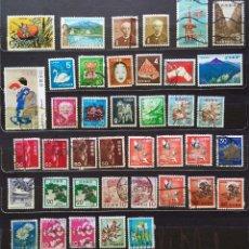 Sellos: JAPON - LOTE DE 40 SELLOS USADOS (SIN CHARNELA). Lote 113592195